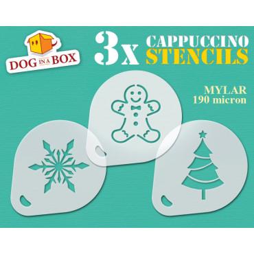 Christmas stencils n.2 (set...