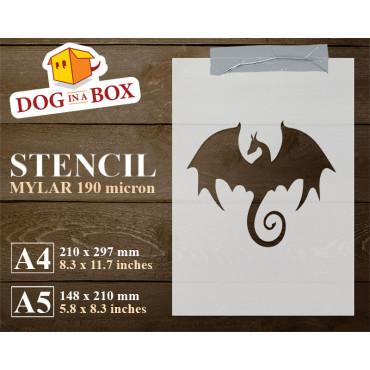 Dragon stencil - Reusable...