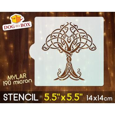 """Celtic stencil - 5.5"""" x..."""
