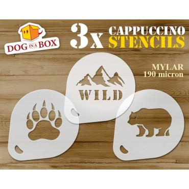 Bear stencils (set of 3)...