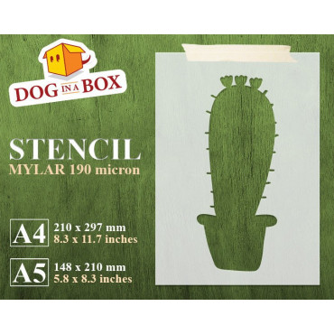 Cactus Stencil n.2 -...