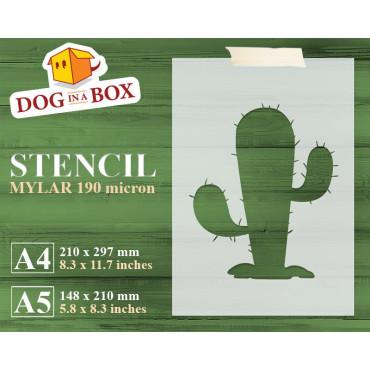 Cactus stencil n.3 -...