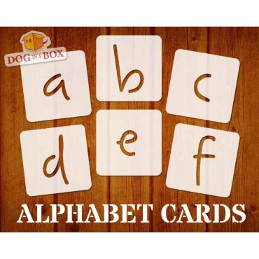 Alphabet stencils font n.3...