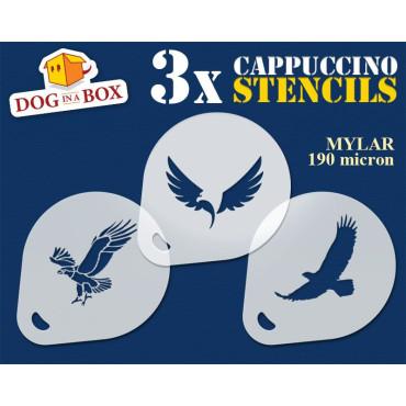 Eagle stencils (set of 3)...