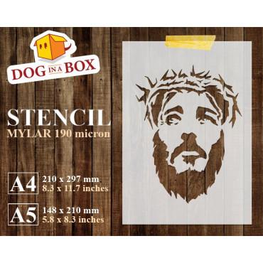 Jesus stencil n.5 -...