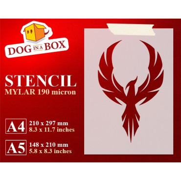 Phoenix stencil n.2 -...