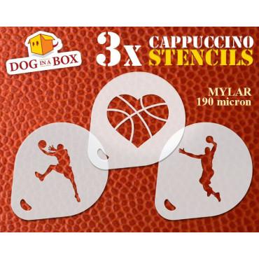 Basketball stencils (set of...