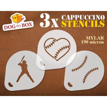 Baseball stencils (set of...