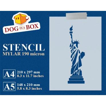 Statue of Liberty stencil...